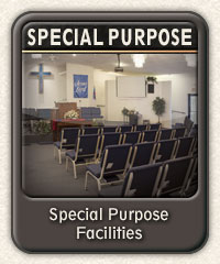 Special Purpose Facilities available